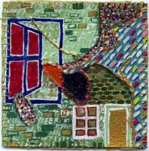 vinyltegel 1/2009 gemaakt door ©Ann Hoogendoorn (beeldend kunstenaar)