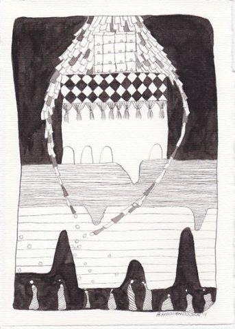 Oost-Indische inkt tekeningen