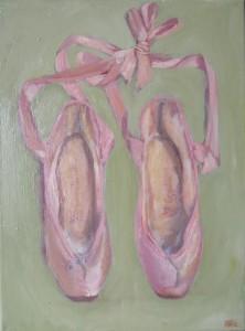 """""""Balletschoentjes door Ann Hoogendoorn - beeldend kunstenaar"""