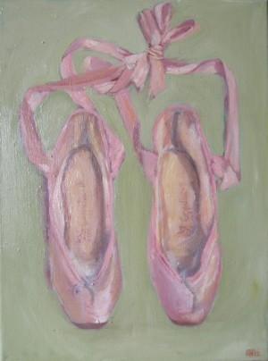 """""""Balletschoentjes"""" door Ann Hoogendoorn - beeldend kunstenaar"""