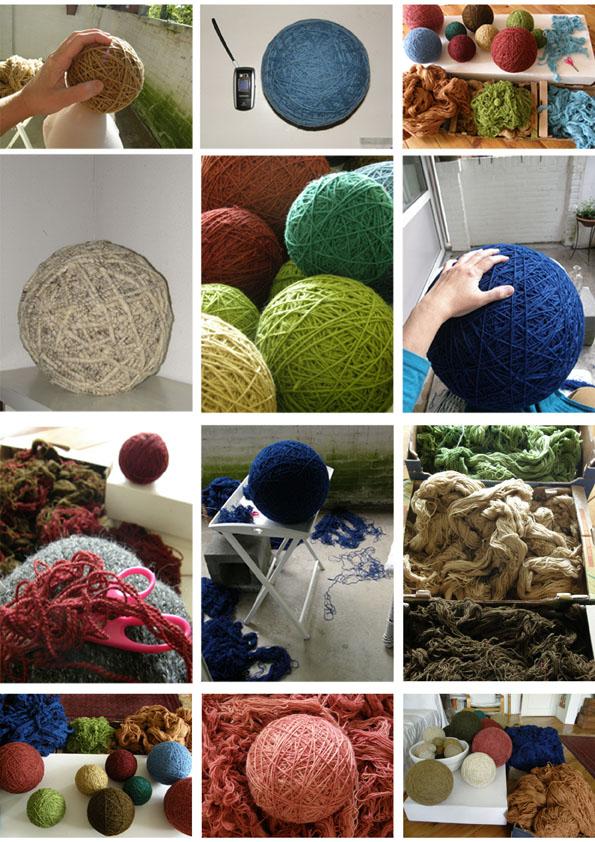 Louterbollen- proces van Ann Hoogendoorn - Beeldend Kunstenaar
