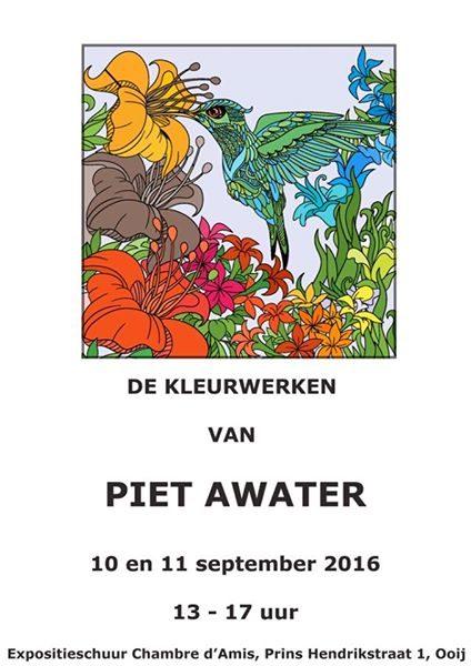 Expositie Piet Awater